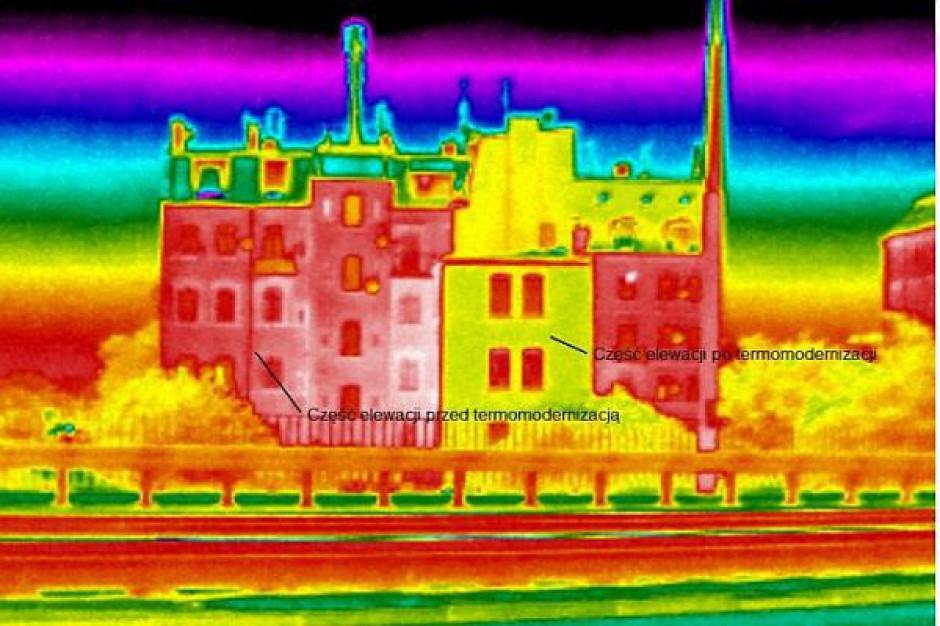 Domy i kamienice w Poznaniu przebadano kamerą termowizyjną