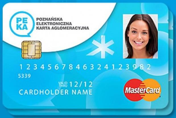 Bilety okresowe w Poznaniu tylko na kartę PEKA