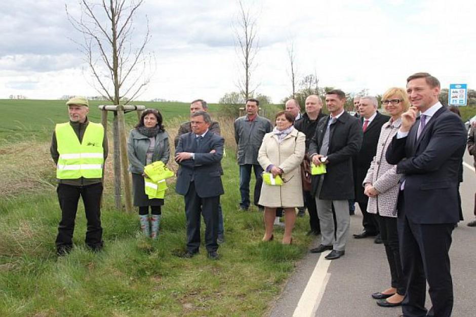 Otwarto pierwszą w Europie transgraniczną aleję