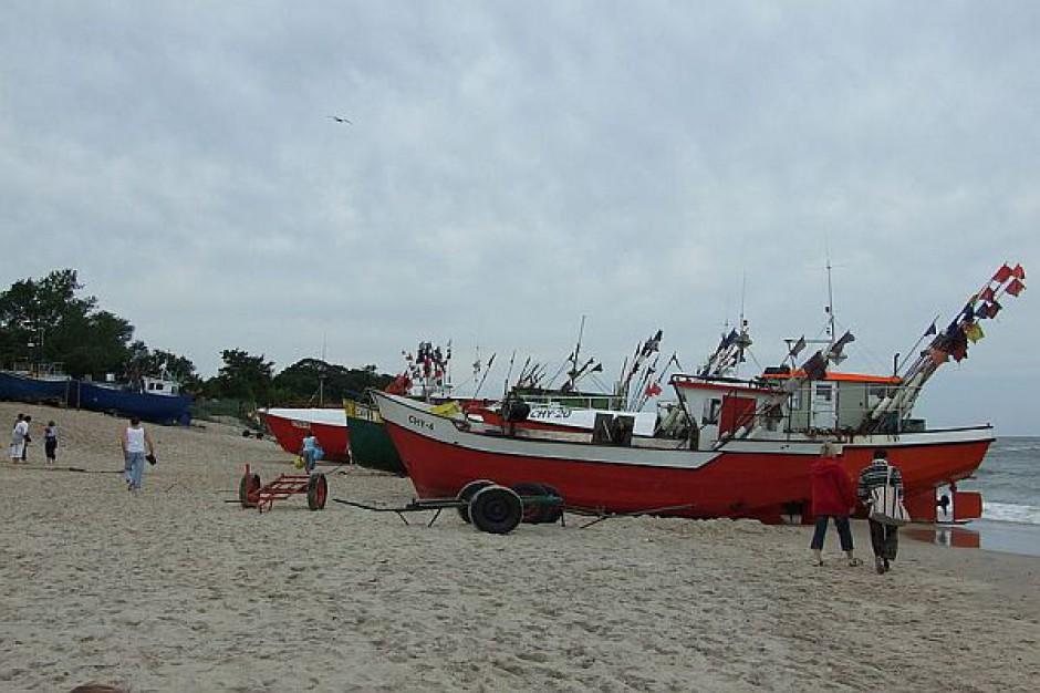 Przetarg na umocnienie brzegu morskiego w Chłopach