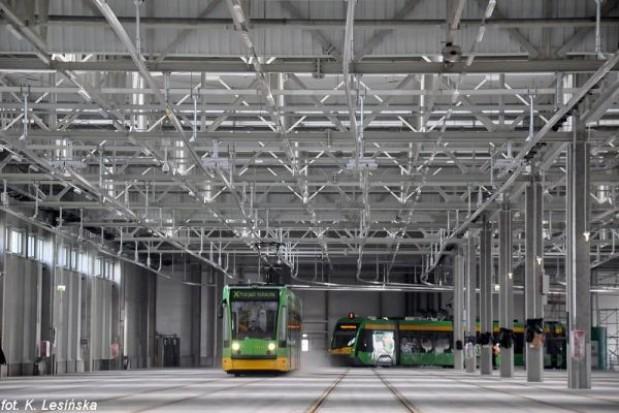 Poznań ma najnowocześniejszą zajezdnię tramwajową