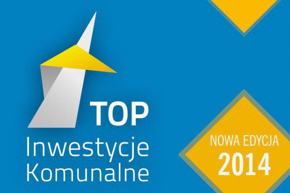 Top Inwestycje Komunalne 2014 wybrane. Oto najlepsi