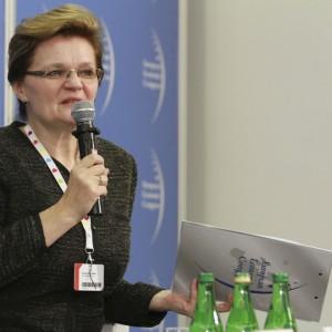 Danuta Kamińska - skarbnik Katowic, przewodnicząca Komisji Skarbników Miast, Unia Metropolii Polskich
