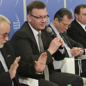 Drugiego dnia Europejskiego Kongresu Gospodarczego odbyła się sesja Złota reguła sektora finansów samorządowych. Fot. Szymon Jankowski