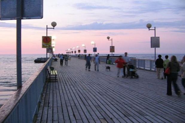 Turyści nie wejdą już na molo w Kołobrzegu