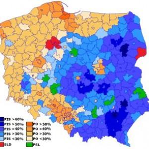 Wyniki wyborów w 2014 roku (Fot. Robert Wielgórski/CC BY-SA 3.0)