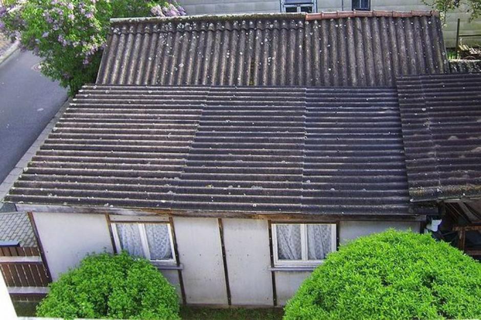 Mieszkańcy Mielca mogą za darmo pozbyć się azbestu