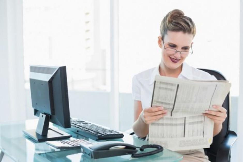O przetargu lepiej informować na papierze