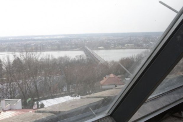 Odnowiona wieża ciśnień z widokiem