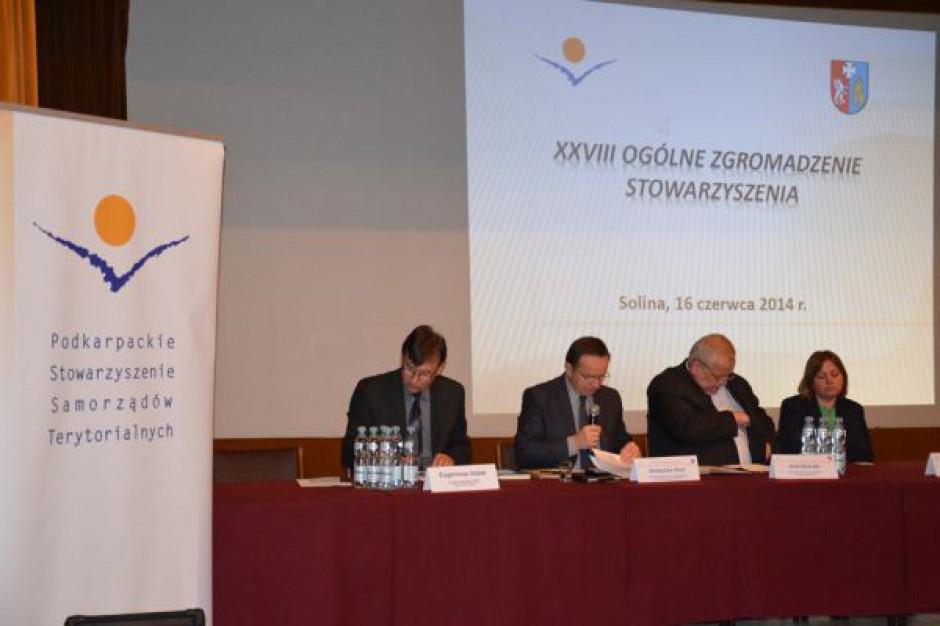 Samorządowcy Podkarpacia obradują w Solinie