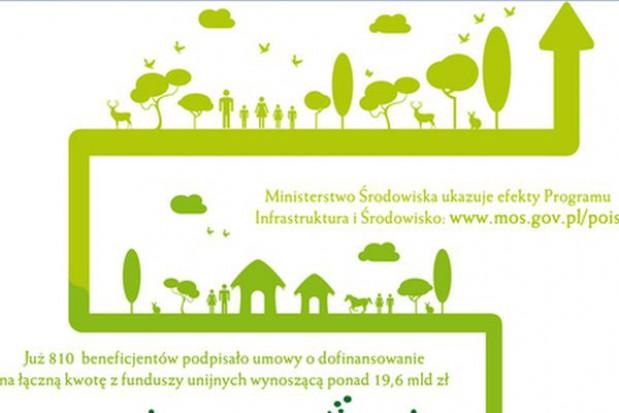 Resort środowiska się chwali: inwestycje za ponad 11 mld zł