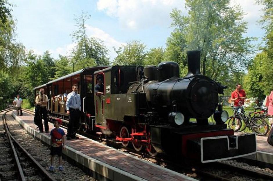 Kolejka wąskotorowa znów kursuje po Parku Śląskim