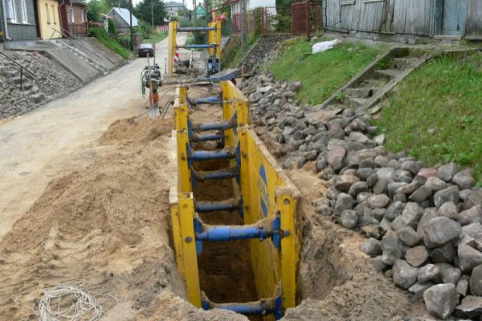 W Obornikach Śląskich powstanie 5 km kanalizacji