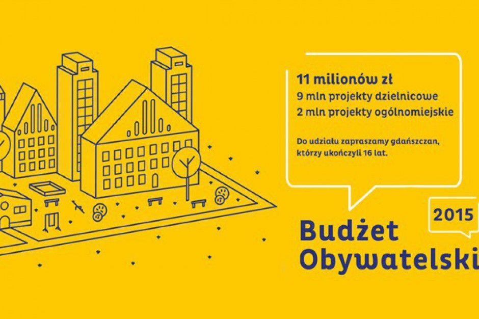 Jeszcze tydzień na wnioski do gdańskiego budżetu