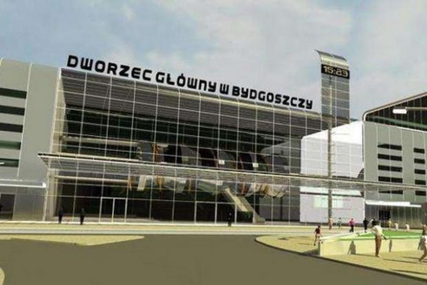 W Bydgoszczy poczekania dworca i kasy znajdują się w kontenerach
