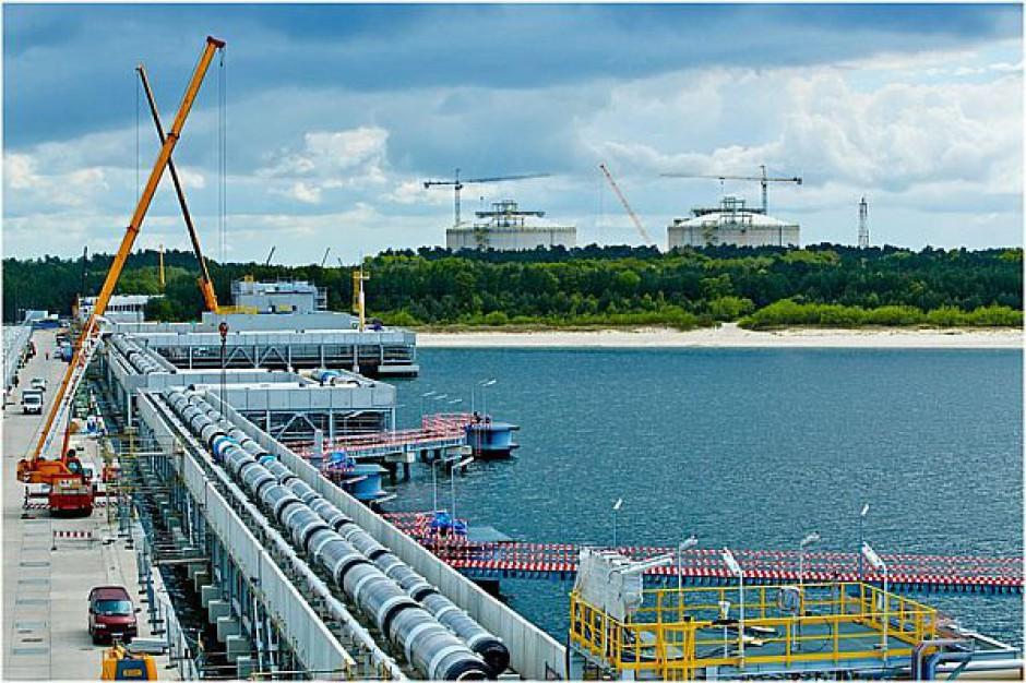 Budowa terminala LNG w Świnoujściu idzie do przodu