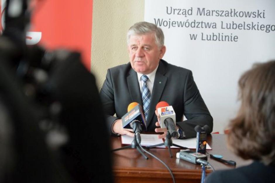 Zarząd województwa lubelskiego wybrał priorytetowe przedsięwzięcia