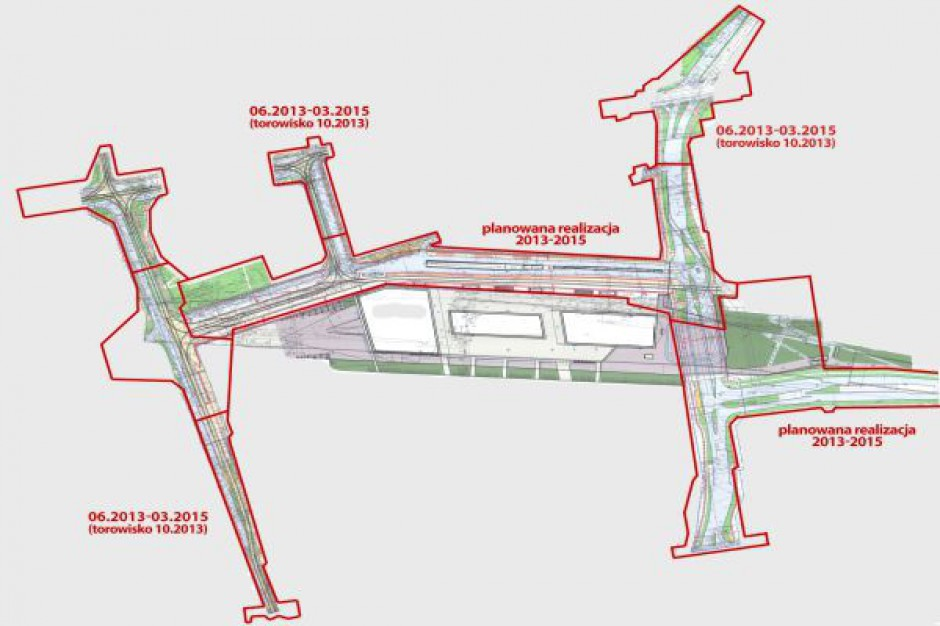 Budowa łódzkiego dworca wchodzi w nowy etap