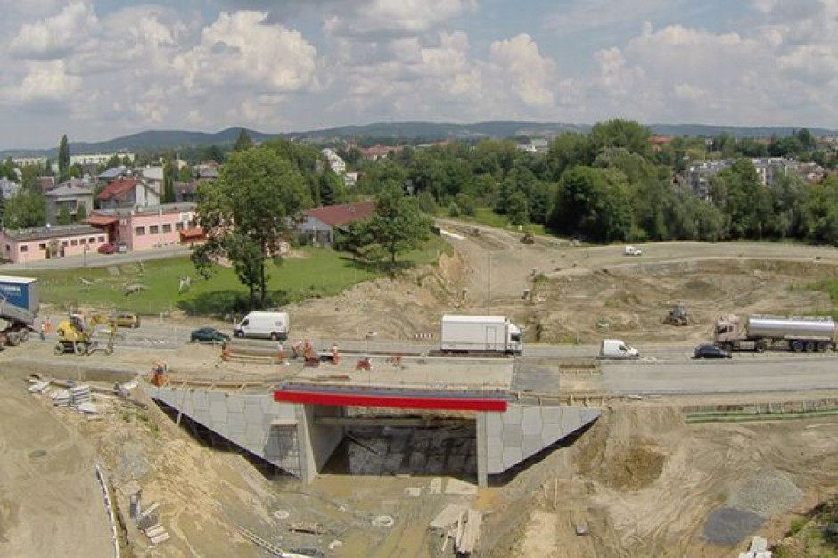 Nowy most, prace przy obwodnicy - dzieje się w Krośnie