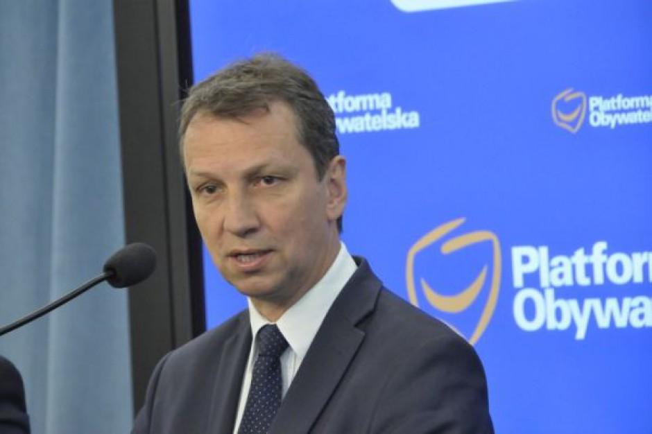Halicki: Projekt janosikowego nie uwzględnia powiatów i gmin
