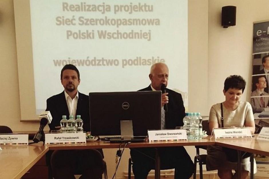 Do 2015 r. powstanie ok. 1,9 tys. km sieci internetu w Podlaskiem