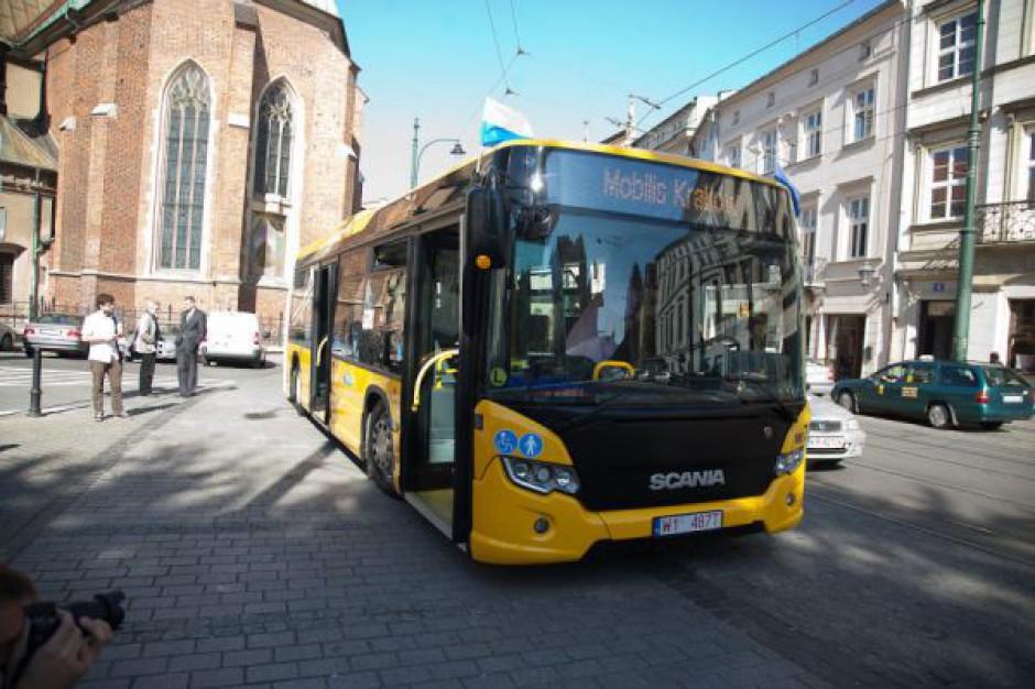 Nowe autobusy na ulicach Krakowa