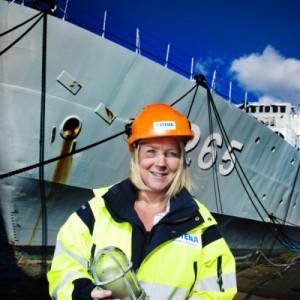 Recykling po szwedzku czyli jak rozebrać statek na części