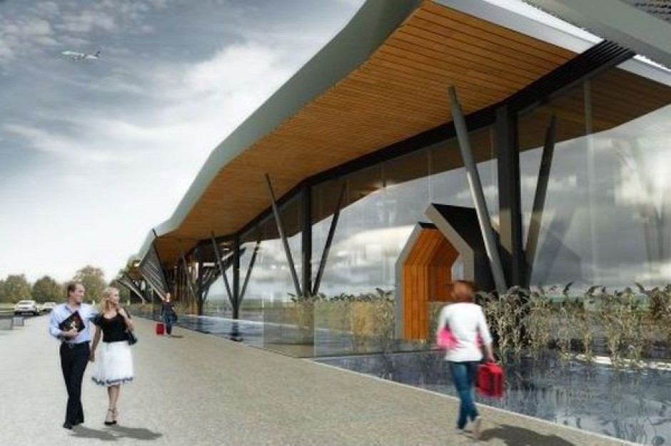Terminal na lotnisku w Szymanach za 56,5 mln zł