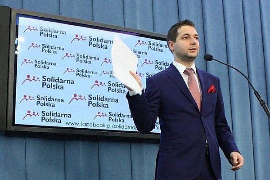"""Patryk Jaki nie chce by w Opolu rządziła """"dżuma i cholera"""""""