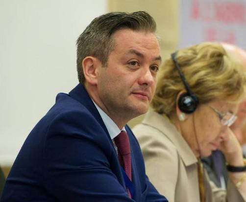 Robert Biedroń - prezydent miasta Słupsk po wyborach samorządowych 2014