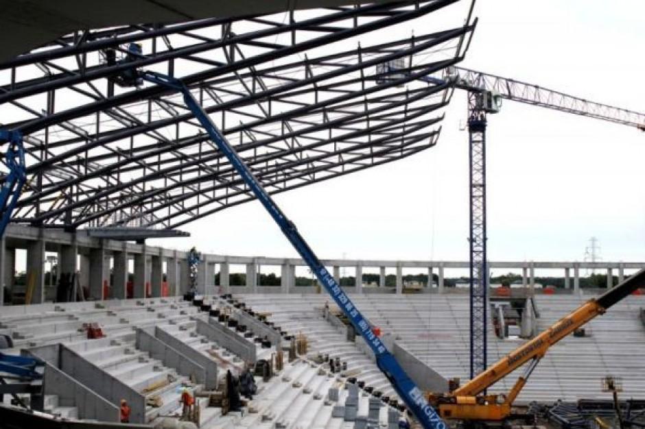 Zobacz film z budowy stadionu w Tychach