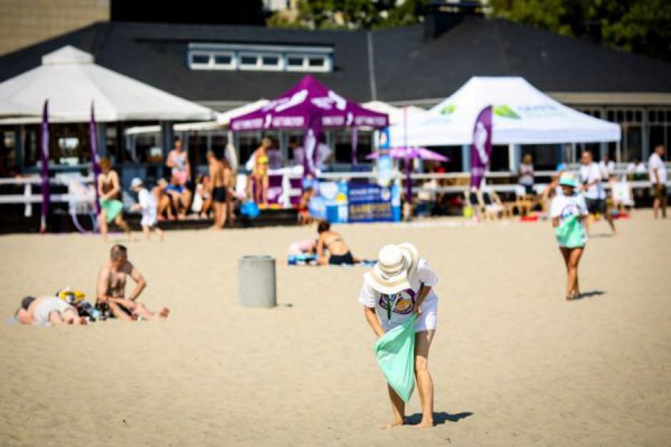 Posprzątali polskie plaże. 577 kg zebranych śmieci