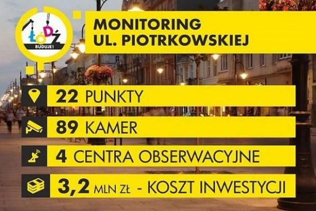 Wybrano wykonawcę miejskiego monitoringu w Łodzi
