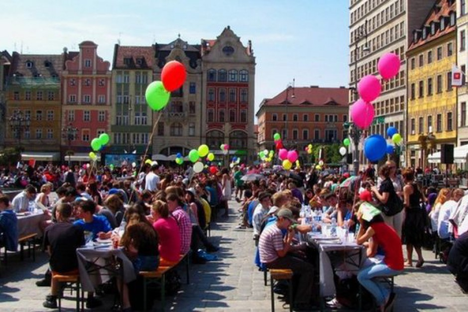 Wrocław zyskał pierwsze pieniądze na program Europejska Stolica Kultury