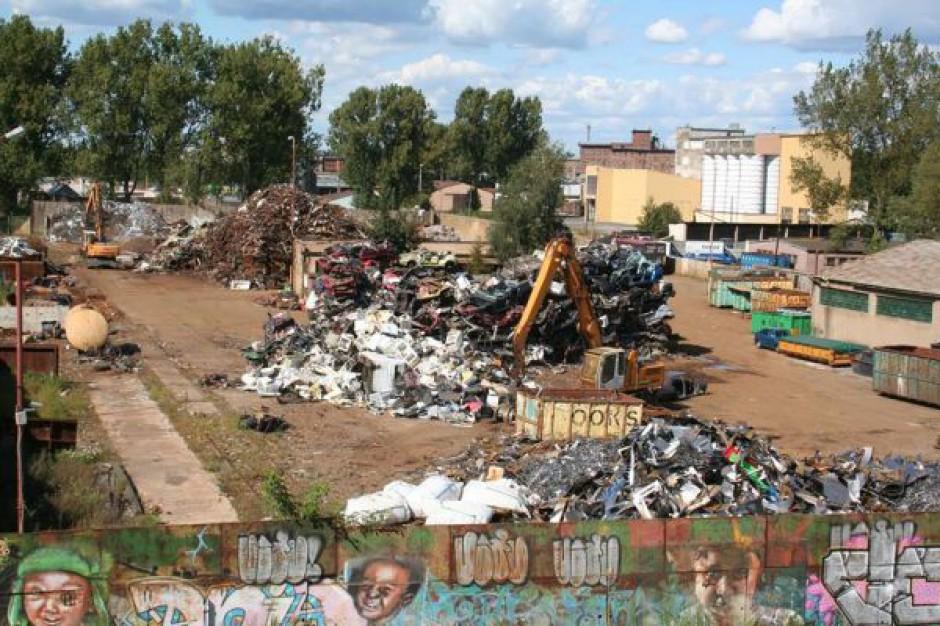 SKO pozwoliło działać niechcianemu przez miasto skupowi złomu