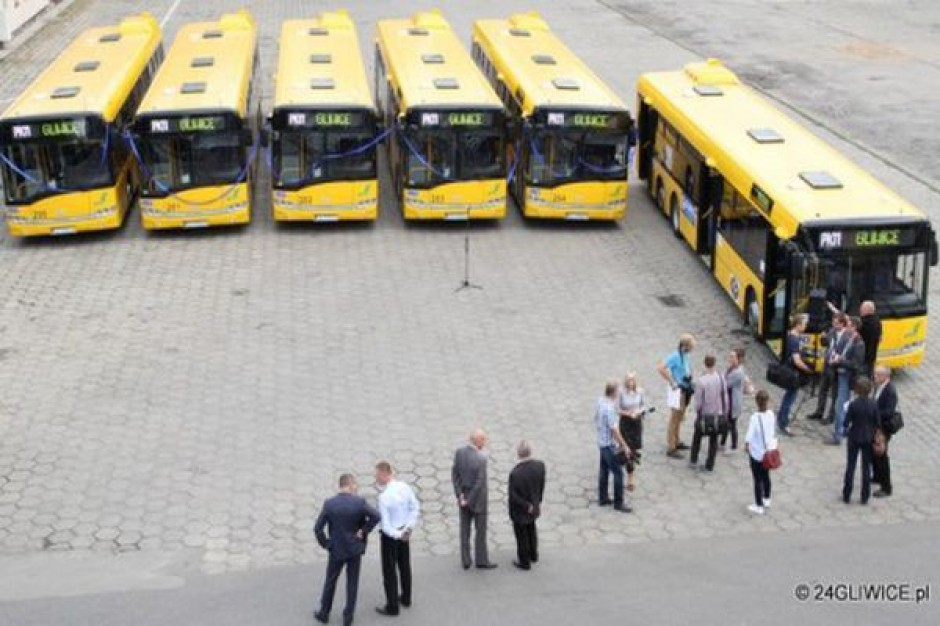 Gliwicki PKM dozbroił flotę nowymi autobusami