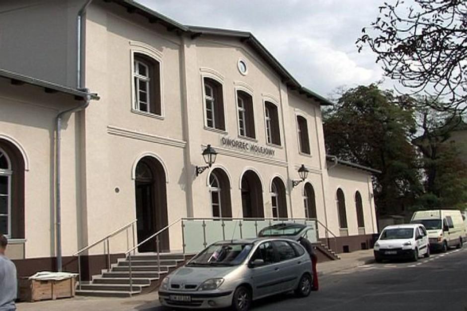 Wyremontowano dworzec PKP w Brzegu Dolnym