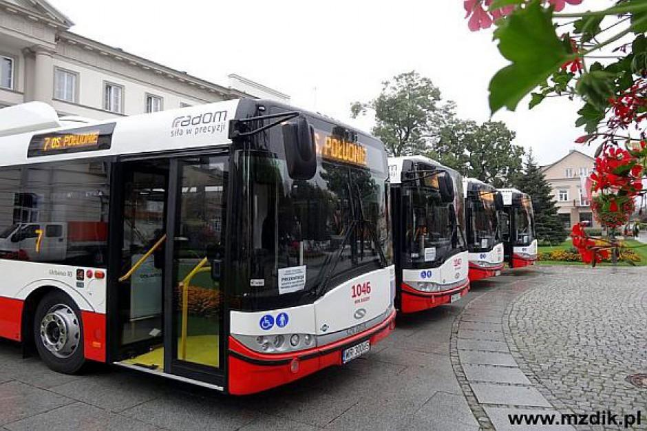 Radom kupił nowe autobusy dzięki środkom z UE