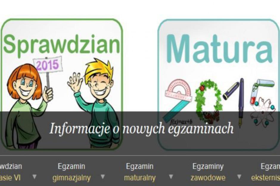 Są informacje dotyczące zasad nowej formuły sprawdzianu i matury