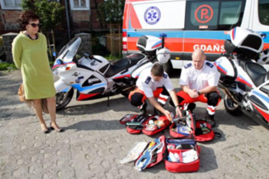 Gdańsk ma dwa motocykle ratownictwa medycznego