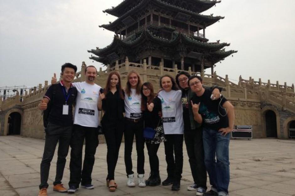 Rockmani promowali Podkarpacie w Chinach