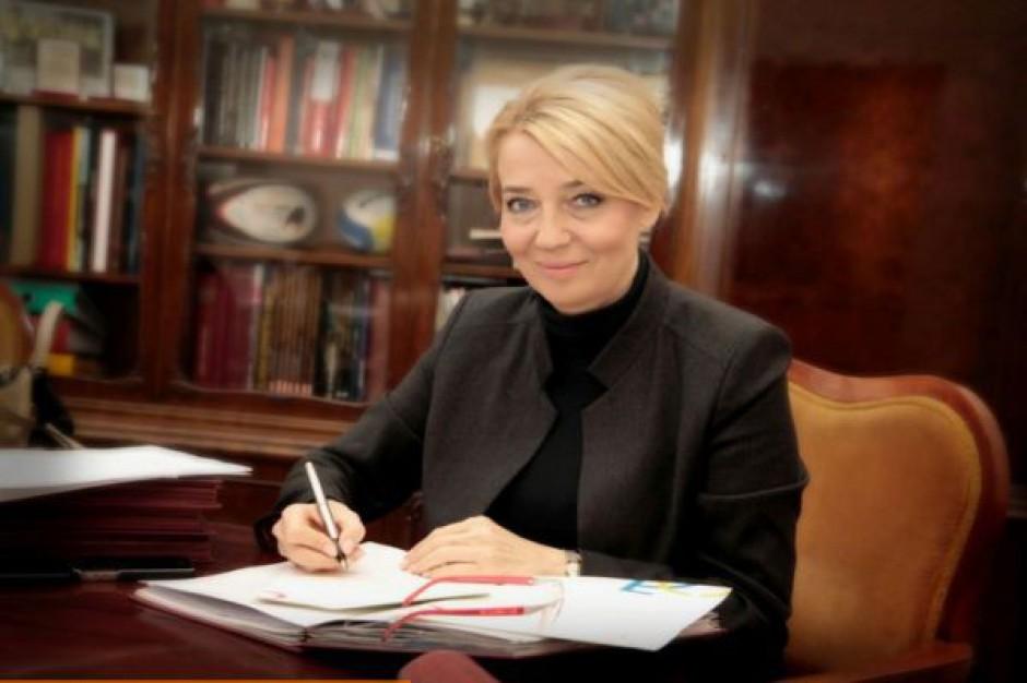 Hanna Zdanowska, prezydent Łodzi, fot. UM Łódź