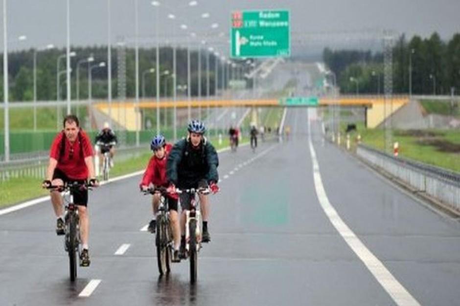 Najpierw rowery, potem auta na nowej wylotówce z Lublina