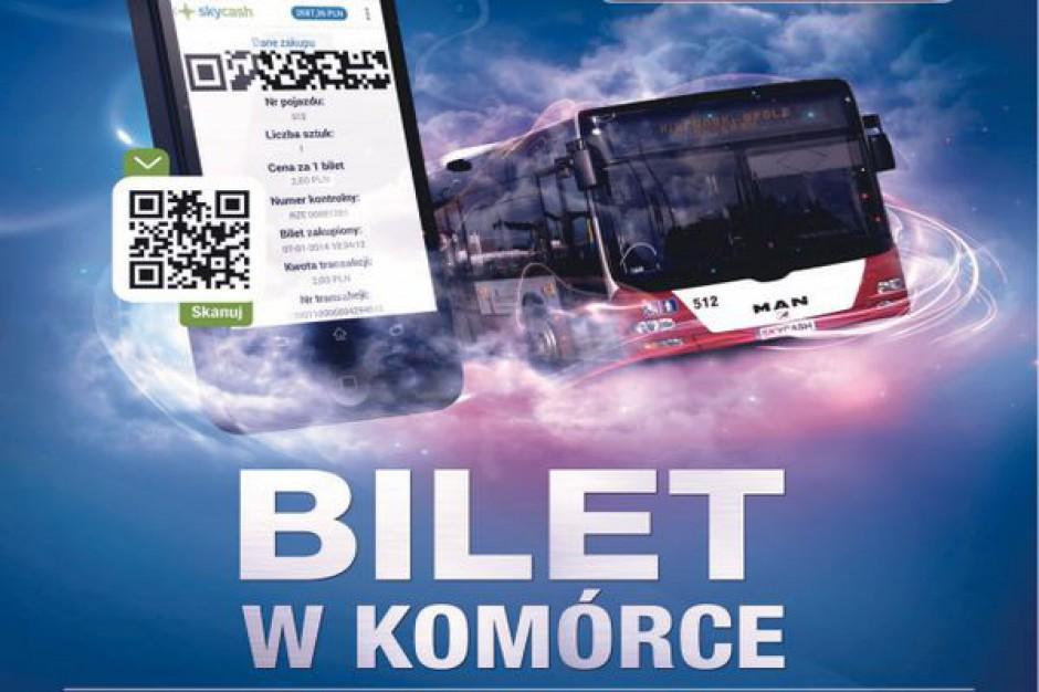 Kup bilet do opolskiego autobusu przez komórkę