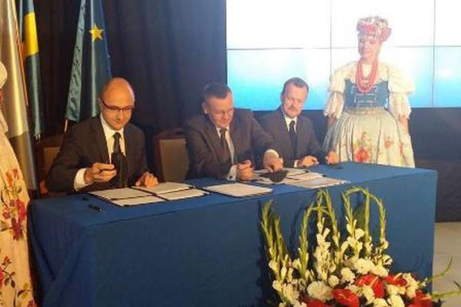 Śląskie jakie pierwsze zawarło Kontrakt Terytorialny