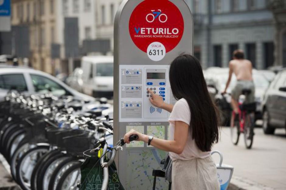 Warszawskie rowery będą miały swój monitoring