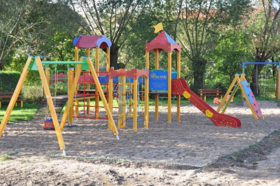 Przybywa placów zabaw w gminie Świdnica