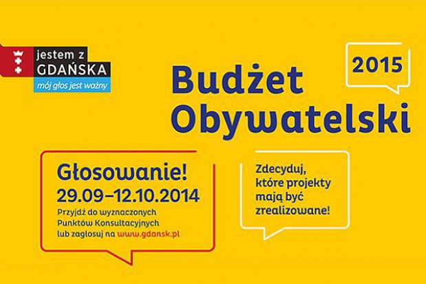 W Gdańsku rusza głosowanie nad budżetem obywatelskim