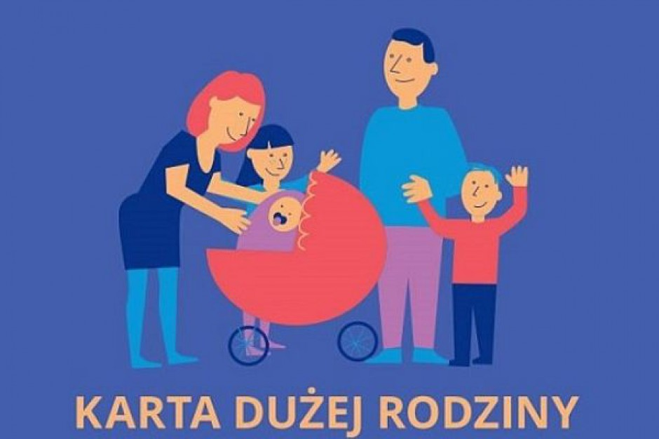 Projekt ustawy o Karcie Dużej Rodziny do konsultacji
