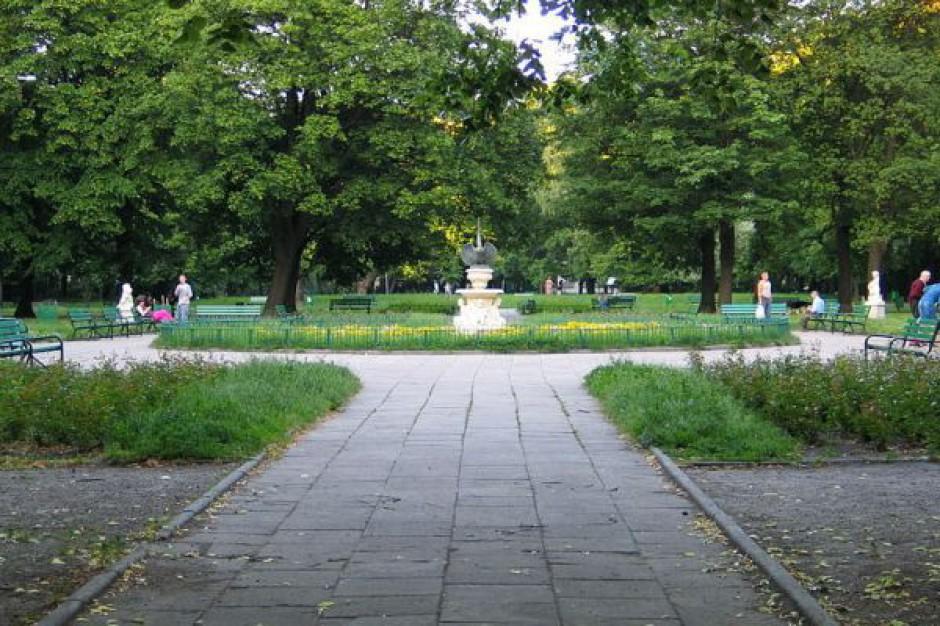 Łódź odnawia swoje parki